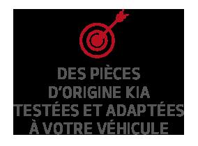 Des pièces d'origine Kia testées et adaptées à votre véhicule